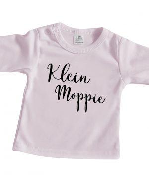 Roze Longsleeve Baby Klein Moppie