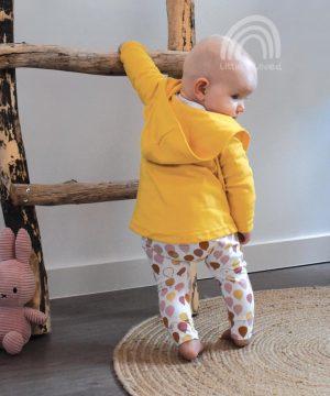 babyvestje-okergeel-oversized