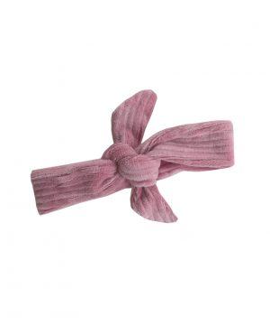rib haarbandje roze