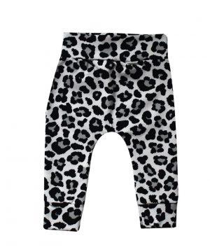 Leopard baby broekje