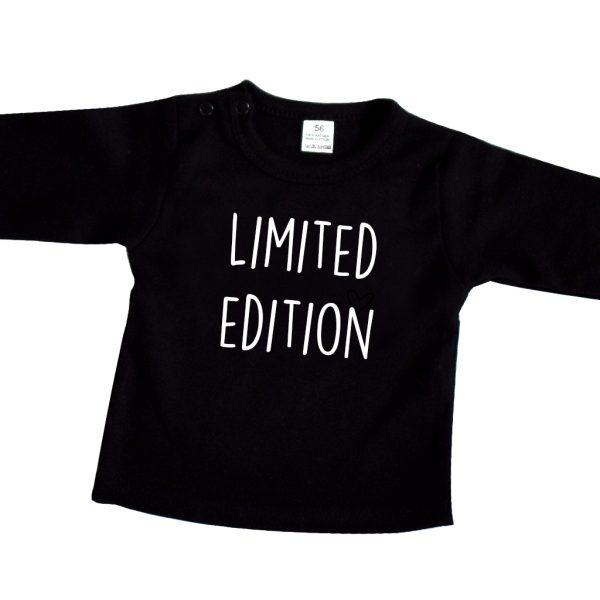 Baby longsleeve zwart limited edition