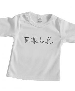 Baby shirt wit Tuttebel