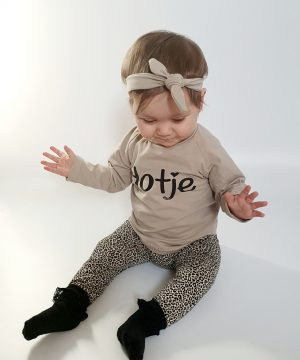 Dotje baby outfit leopard