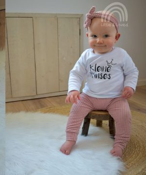 Baby kledingsetje rib Anna