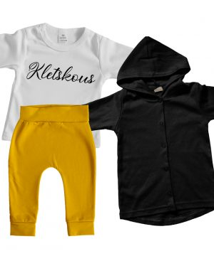 Baby Outfit Unisex okergeel