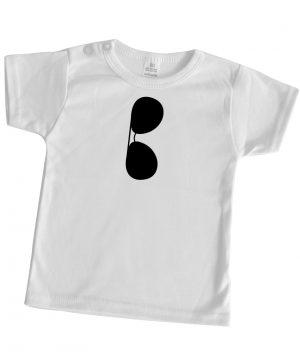 bedrukt babyshirt