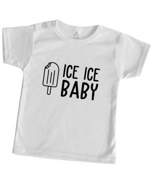 baby shirt wit zomer