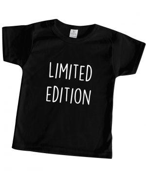 baby t-shirt bedrukt zwart limited edition