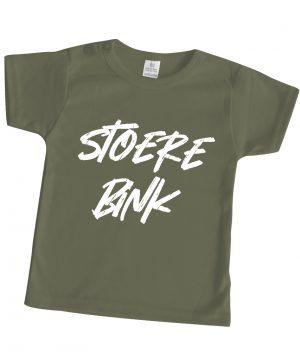 babyshirt bedrukt groen