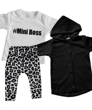 Leopard baby outfit Robin