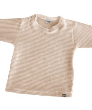 rib baby shirt ecru