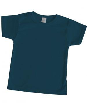 Baby shirt basic petrol