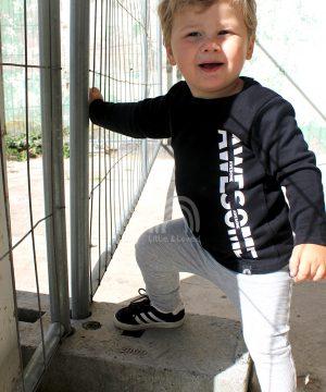 Babyoutfit-rib-jongens