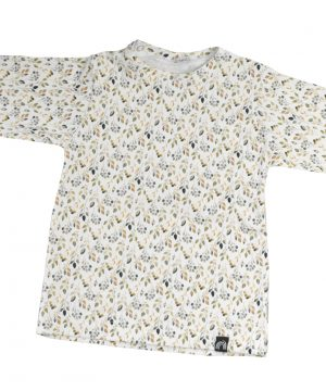 baby shirt lange mouw nature