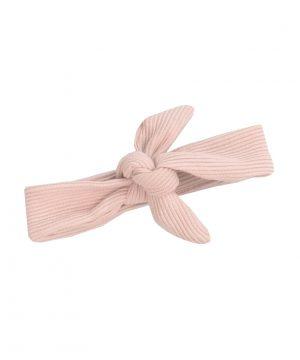 rib haarband roze