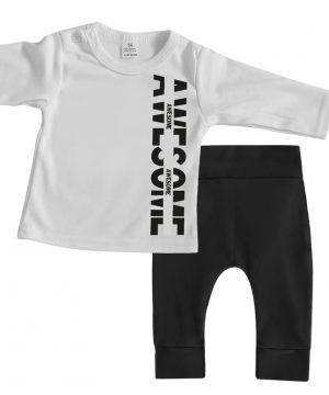 stoere baby kledingset