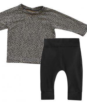 panter baby kledingset