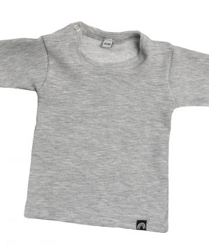 rib shirt grijs
