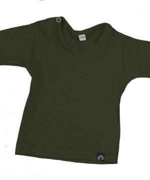 rib shirt groen