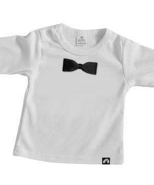 babyshirt met strik