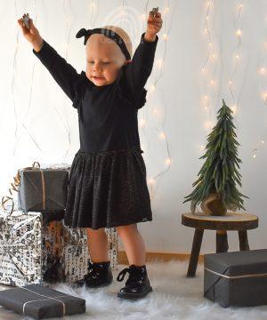 kerst jurkje glitter baby