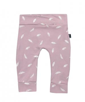 baby broekje roze veertjes