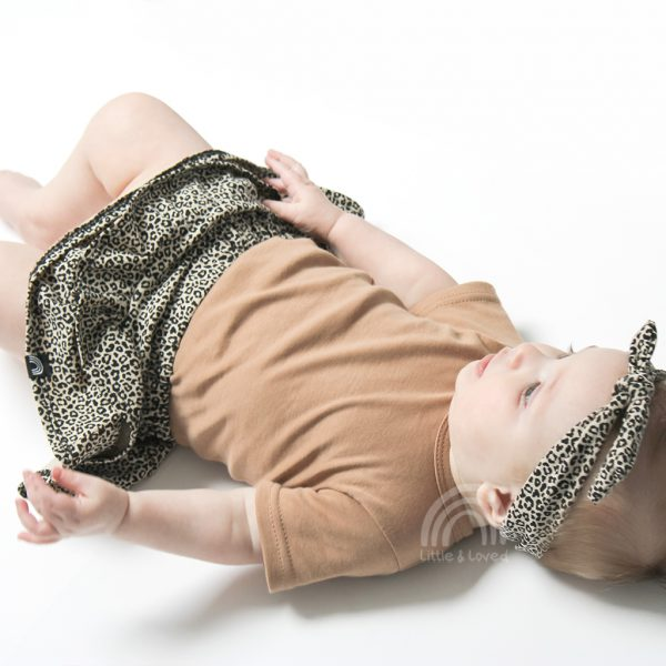 baby rokje leopard